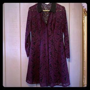 Nanette lepore lace 10 dress